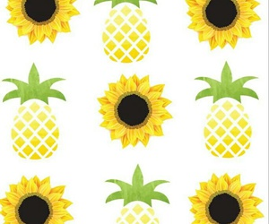 pineapples, flowers, and fondos image
