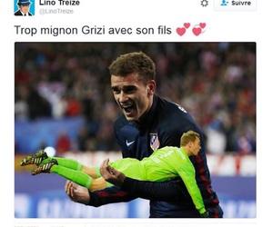 football, tweet, and france image