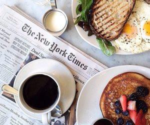 breakfast, coffee, and food image
