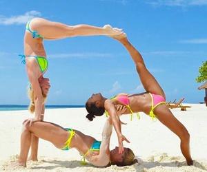 playa, figuras, and acro image