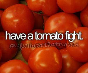 before i die and tomato image