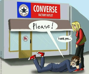 converse, doctor who, and funny image