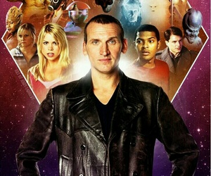 doctor who, rose tyler, and christopher eccleston image
