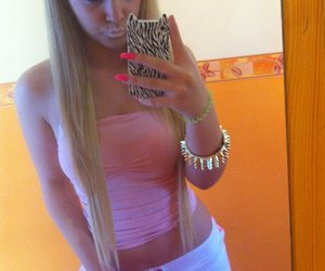 blonde, pink, and barbie image