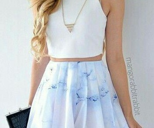 outfit, skirt, and clothes image