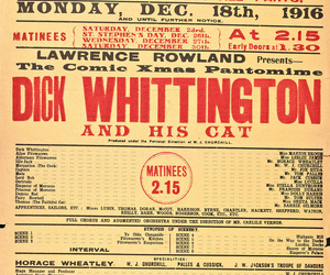 pantomime, 20th century, and december image