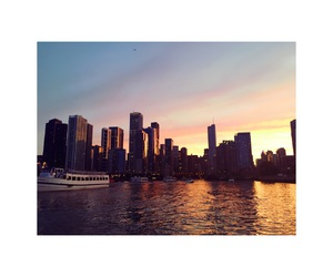 beauty, boat, and chicago image