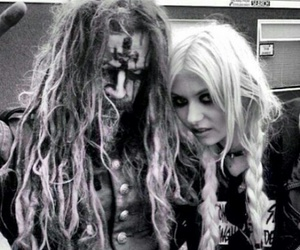 black and white, rob zombie, and Taylor Momsen image