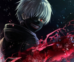 anime, rojo, and tokyo ghoul image