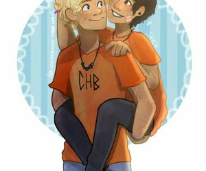 solangelo and percy jackson image