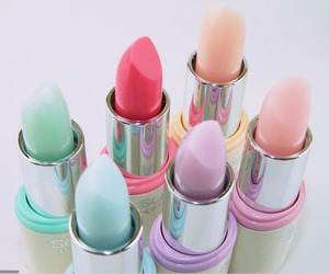 colores, pastel, and labiales image
