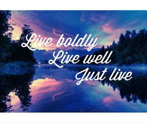 beautiful, life, and justlive image