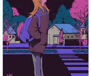 aesthetic, anime girl, and anime art image
