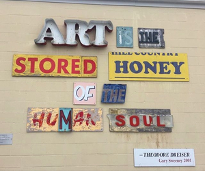 art, quotes, and honey image