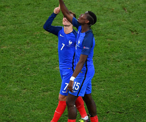 football, antoine griezmann, and paul pogba image