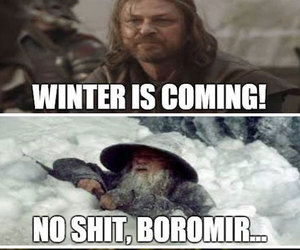 funny, game of thrones, and ned stark image