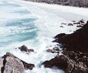 blue, beach, and fresh image
