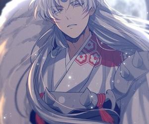 inuyasha, anime, and sesshomaru image