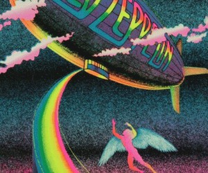 led zeppelin, rock, and music image