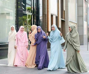 beautiful, hijab, and islam image