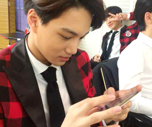 kai, exo, and chanyeol image