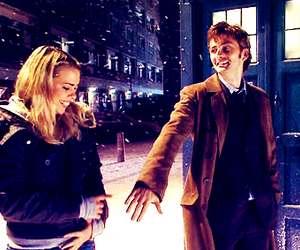 doctor who and rose tyler image