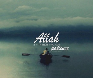 islam, muslim, and patience image