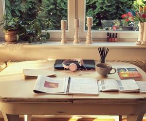 school, college, and desk image