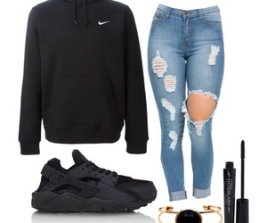 nike, shoe, and outfit image