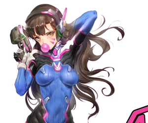 anime and overwatch image
