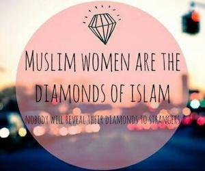 muslim, islam, and diamond image