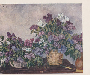 etsy, ussr vintage, and flowers image
