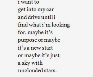 poetry, sad quote, and night drive image