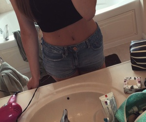 crop, outfit, and summer image