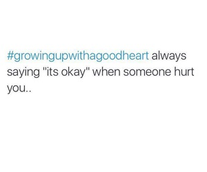 hurt, growing up, and heart image