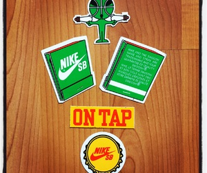 nike, nike sb, and stickers image