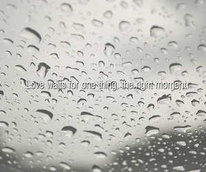 photography, rainy day, and typography image