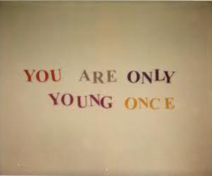 young, text, and typography image