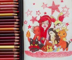 colors, drawing, and pokemon image