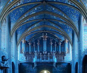 blue, cathedral, and church image