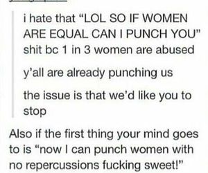 abuse, feminism, and life image