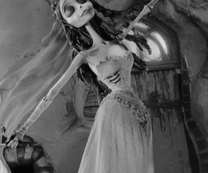 corpse bride, tim burton, and emily image