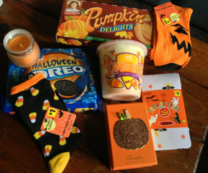 Halloween, autumn, and trick or treat image