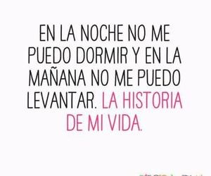 dormir, frases, and historia image