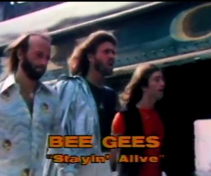 bee gees, oldies, and staying alive image