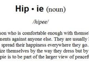 hippie, definition, and happy image