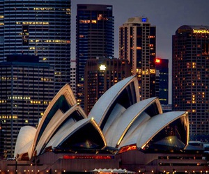australia, opera house, and sidney image