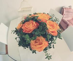 art, decor, and orange image