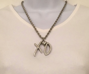 collar, necklace, and xo image