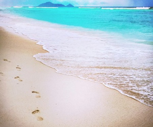 beach, strand, and meer image